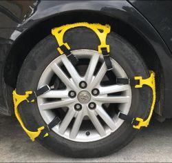 Schnee-Gummireifen-Kette für das rutschfeste Emergency Winter-Fahren des Auto-LKW-SUV
