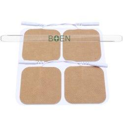 CE 승인 접착성 재사용 접착 패치 수십 개의 장치 교체 전극 물리치료 전극 패드
