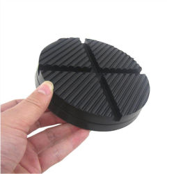 1 ADATTATORE per protezioni per jack da pavimento per blocchi a taglio universali Tamponi in gomma