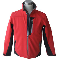 Chaqueta Softshell Premium para hombres, con Windproof, impermeable y transpirable