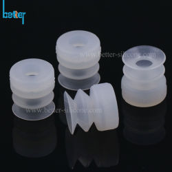 Borracha de silicone pequenos personalizados Ventosas Garra