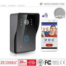 De super Slanke Telefoon van de Deur van WiFi van het Scherm van de Aanraking Video voor de Veiligheid van het Huis