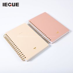 홍보 도매 A5 사무실 및 학교 편지지 소모품 다채로운 인쇄 사용자 정의 나선형 노트북