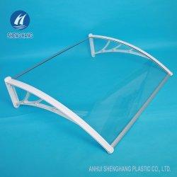 프론트 도어 파티오 윈도우 폴리카보네이트 커버 캐노피 UV 레인 눈 보호