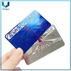 بطاقة عمل فريدة من نوعها مخصصة للمرآة المعدنية للإنهاء، بطاقة ائتمان بطاقة ائتمان ذات تأثير متطابق من المعدن