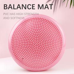 قرص موازنة الهواء المتأرجح متعدد PVC Balance Pad للبيع الساخن سجادة تمارين اليوغا مع وسادة تدليك التوازن