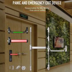 En1125 сертифицирован стали аварийного выхода паники бар устройство блокировки замков дверей/сенсорной панели паники выхода из устройства пожарной доказательства из нержавеющей стали 304
