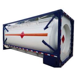 Der günstigste Standard Tank 25000L 20 FT ISO Tankcontainer Wasser/Öl-Lagerbehälter Verkauft