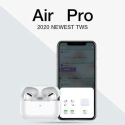 2021 AP PRO TWS 1:1 무선 이어폰 물리적 소음 감소 스테레오 헤드폰 Airpod 3용 스마트 이어폰형