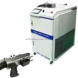 ماكينة تنظيف ليزر P-Laser محمولة بقدرة 100 واط لتجديد المعادن دون صدأ تنظيف الحجر المتحرك وتمييز الحجر