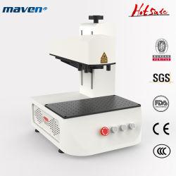incisione portatile di CNC della macchina della marcatura del laser della fibra dei monili di colore 50W per la stampa sotto la superficie Chain di Galvo YAG della targa di immatricolazione della plastica 3D dell'oro per il taglio di metalli di marchio