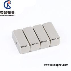 De permanente Sterke Spreker van de Magneten van NdFeB van de Vorm van het Blok van de Magneten van de Zeldzame aarde