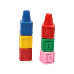 Los niños no tóxico de dedo de plástico lápices de colores para el dibujo y pintura
