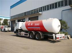 Cino gas delle rotelle GPL di HOWO 10 che riempie i veicoli