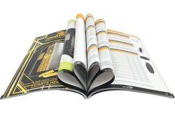 Hete Verkoop Nice die het Perfecte Bindende Boek van Softcover van de Druk van de Douane, Tijdschrift kijken