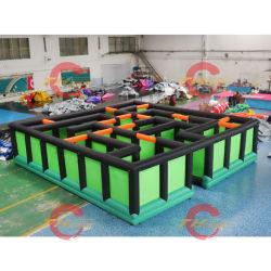 المتاهة العملاقة لعبة طفل الذرة البالغ تأجير ملعب للأطفال في الهواء الطلق للبيع