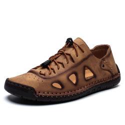 علبيّة درجة جلد ليّنة وحيد [منس] [كسول شو] [جنوين لثر] حذاء رجال [درسّ شو]
