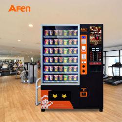 Afen 스낵 및 음료 콤보 컵 누들 벤딩 머신 지원 Bill Coin Card Reader 판매