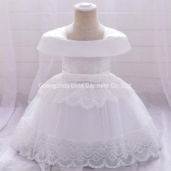 2021 新しい到着の赤ん坊の摩耗の女の子党 Garment の球ガウン Princess Frock レースの甘い服