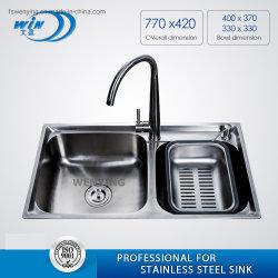 Lavelli da cucina con rubinetto Cina Wy8043dB