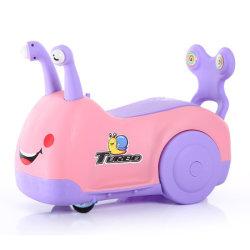 Nuevo diseño de China Los niños bebé Kid Auto Electric Empujador de giro de paseo en coche de ondulación trenzado de torsión de torsión