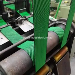 Top Rate High Quality Furniture Webbing Sofa Elastic Webbing in Groene effen kleur