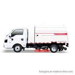 Fulongma hohe Leistungsfähigkeit1.4 Cbm-Kleinkapazitätsstraßen-Kehrmaschine