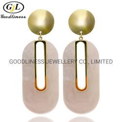 Mayorista de fábrica de nuevo diseño de moda de Shell Artificial Aretes joyas de plata