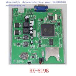 Ahd 4CH Conseil Mdvr SD 720p Mobile CARTE DVR avec interface VGA et CVBS en charge de 256 Go de carte SD