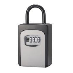 보안 키 잠금 4자리 조합 자물쇠 수질 내구성 핸들 XMM-K40-H가 있는 알루미늄 합금 재질의 비밀번호 상자 잠금 장치