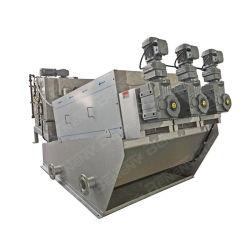 下水処理用のねじプレス汚泥排水装置排水処理 治療工場