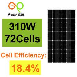 Alto mono comitato solare efficiente 310W