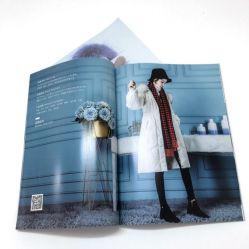 A impressão de revistas Enterprise página colorida Revista de vestuário de forma personalizada publicidade personalizada do livro A4