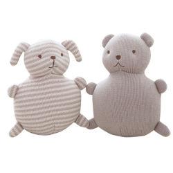 Knitted Wool 동물 플러시 인형