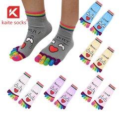 Coton personnalisés Cute cinq doigts 5 chaussettes de Toe