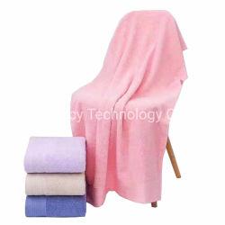 100% algodão Face Banho Lado Terry toalha sólida capacidade de absorção de água, casa de banho de Secagem Rápida Toalha de cabelo