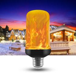 7W E27 E26 E14 LED brennendes helles Aufflackern-Flamme-Birnen-Licht für Weihnachtsdekoration