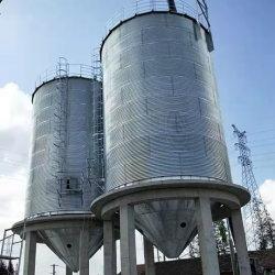 Os silos de aço para armazenamento de trigo e milho 100toneladas, 200 toneladas, 500 toneladas, 1000toneladas