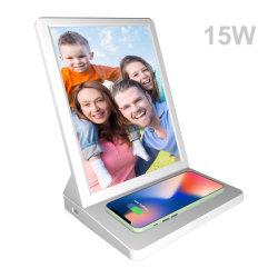 Phone Mount Wireless 携帯電話充電器 9.7 インチタッチスクリーン WiFi デジタルフォトフレーム