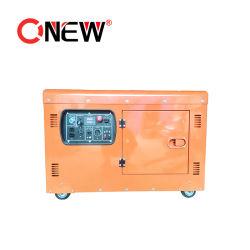 Haute qualité 10kVA 8kw 8000W 220V 110V 100tr/min 3 PHASE AC petite eau Générateur Diesel Générateur Inverter portable avec l'ATS