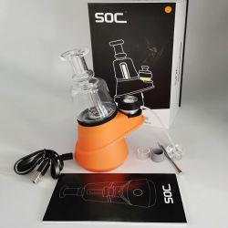 공장 직영 E-CIG 왁스 기화기 SOC 에일(4 온도) 설정 DAB Rig SOC 키트 기화기