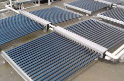 Стеклянная трубка солнечной бассейн система отопления для частных семейный бассейн, бассейн с солнечной энергии на свечи предпускового подогрева