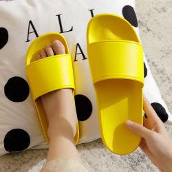 Индивидуальный логотип шаблон многоцветный летом водонепроницаемый тапочки для домашнего использования женщин пластиковый ПВХ Non-Slip тапочки оптовая торговля
