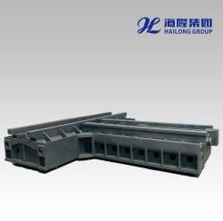 Het grote Kneedbare/Grijze Ijzer Gegoten CNC Afgietsel van het Zand van het Bed van de Basis van het Frame van de Werktuigmachines van het Malen van de Brug