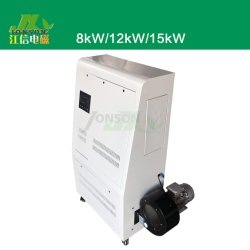 冬の高周波誘導電気加熱炉の熱する熱風炉