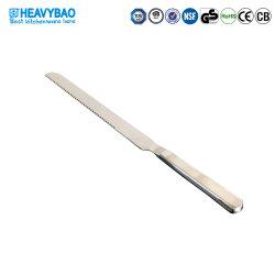 Heavybaoのコマーシャルはステンレス鋼の台所のための鋸歯状にされた包丁のパン切りナイフに用具を使う