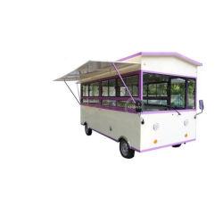2019 Nuevo diseño de 3,5 m de largo Electric fast food Comida Camión Camión triciclos quiosco Hotdog Carreta