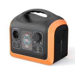 Eléctrico portátil com fonte de alimentação recarregável portátil Estação de Energia da bateria portátil com fonte de alimentação AC
