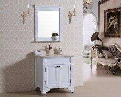 Klassiek Floor Design Marmeren Countertop Badkamer Opbergkast Landing Badkamer Ijdelheid (OT1884)
