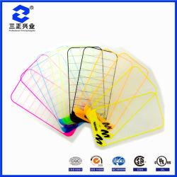 맞춤형 PET 방수 투명 컬러풀한 정전기 흡수 보호 필름 스티커